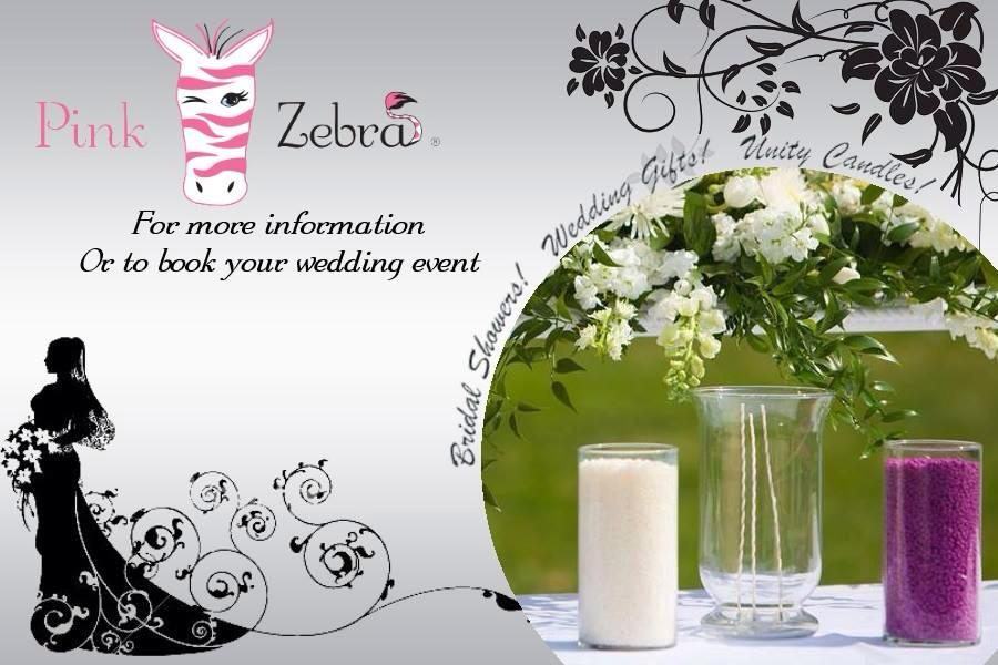 Pink Zebra Can Also Be The Way To Carry Your Theme Throughout Wedding Day They Used Decorate Reception Tables